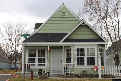 Sparks Single Family Home Active/Pending-Loan: 2601 Betsy