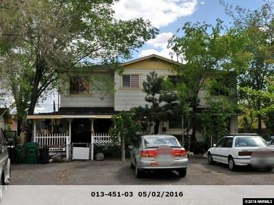 Reno NV Multi Family Home New: $575,000