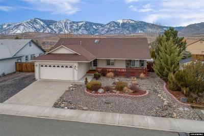 Carson City Single Family Home Active/Pending-Call: 3420 Smoketree Avenue