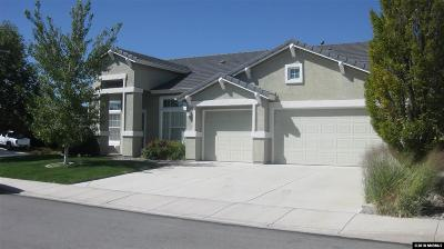 Reno Single Family Home New: 1801 Arboleda Ct.