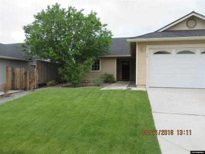 Gardnerville Single Family Home Active/Pending-Loan: 16 Conner