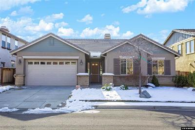 Reno Single Family Home Active/Pending-Loan: 8870 Scott Valley Court