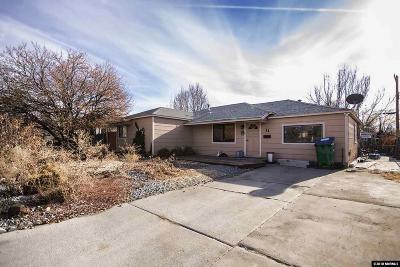 Sparks Single Family Home Price Reduced: 11 E P St