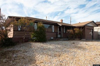 Reno Single Family Home For Sale: 3287 Heights