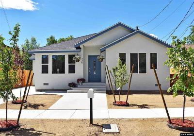 Reno NV Single Family Home Back On Market: $399,000
