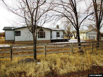 Winnemucca Manufactured Home For Sale: 7300 Allen Rd.