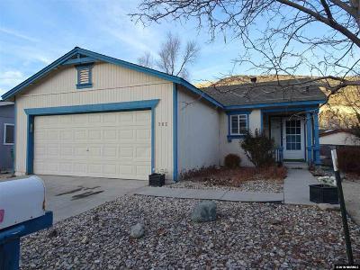 Sparks Single Family Home Active/Pending-Loan: 262 Ave De La Demerald