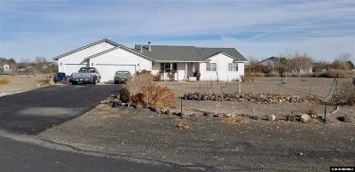 Fernley Single Family Home For Sale: 1090 Cejay Way