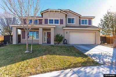 Fernley Single Family Home Active/Pending-House: 1747 Olive Branch Ct