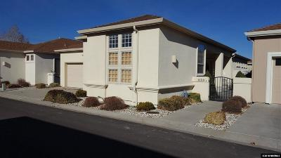Carson City Single Family Home Active/Pending-Loan: 1056 Gambrel Dr