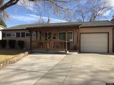 Sparks Single Family Home For Sale: 2260 11th St