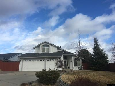 Reno Single Family Home For Sale: 14225 Ghost Rider Drive
