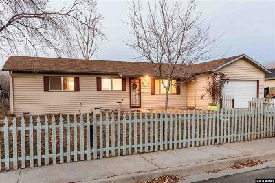 Fernley Single Family Home For Sale: 852 E Street