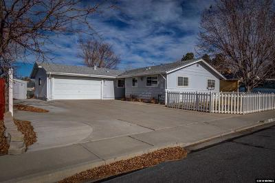 Carson City Single Family Home For Sale: 808 Hickory Drive