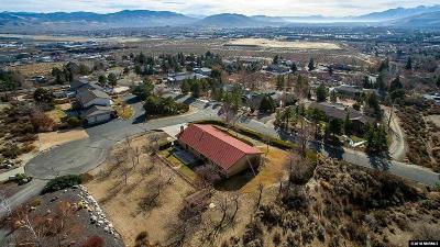 Carson City Single Family Home Active/Pending-Call: 4851 Bryce Drive
