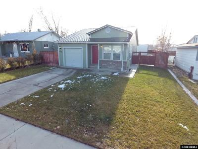 Winnemucca Single Family Home For Sale: 1220 Melarkey St.