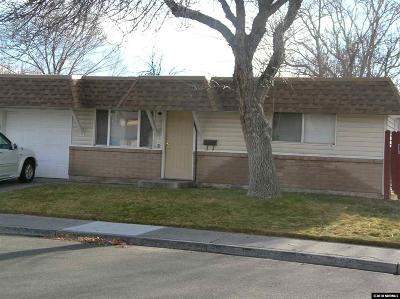 Sparks Single Family Home Active/Pending-House: 1503 Gault Way