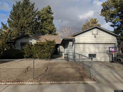 Sparks Single Family Home For Sale: 1602 Sprucemont