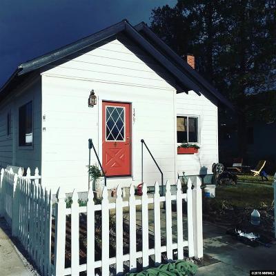 Gardnerville Single Family Home For Sale: 1467 Douglas #NV