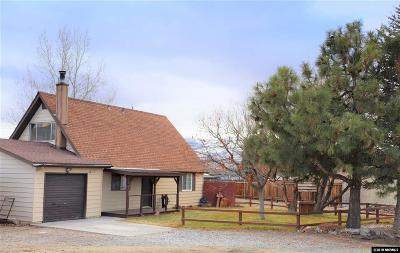 Reno Single Family Home Active/Pending-Loan: 17360 Cold Springs Drive