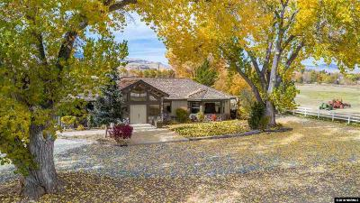 Reno Single Family Home For Sale: 8333 Panorama Dr.