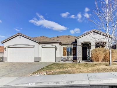 Reno Single Family Home For Sale: 745 Sienna Park Dr