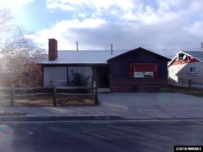 Fallon Single Family Home For Sale: 380 S Bailey St