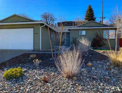 Reno Single Family Home Active/Pending-Loan: 7655 Yorkshire