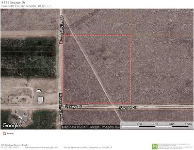 Winnemucca NV Residential Lots & Land For Sale: $8,000