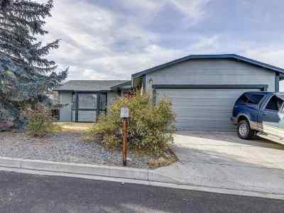 Reno Single Family Home Active/Pending-Loan: 8593 Moth Cir