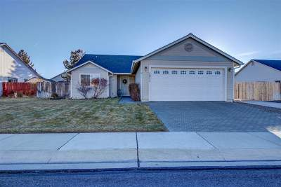 Gardnerville Single Family Home Active/Pending-Call: 1311 Chichester Dr