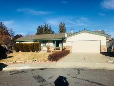 Carson City Single Family Home Active/Pending-Call: 1951 Marie