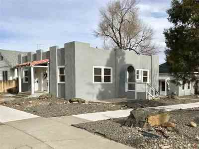 Reno Multi Family Home For Sale: 848 Humboldt St.