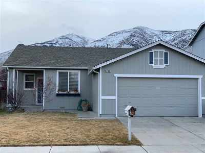 Reno Single Family Home Active/Pending-Loan: 8280 Big River Drive