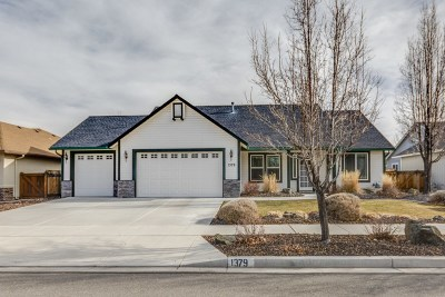 Gardnerville Single Family Home Active/Pending-Loan: 1379 Elges Ave