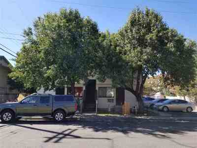 Reno Multi Family Home Back On Market: 3573 Carlos Lane