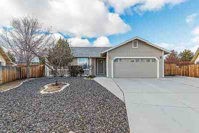 Sparks Single Family Home For Sale: 2057 Flycatcher Ct.