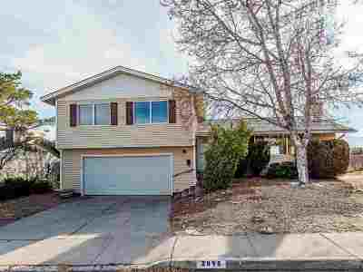 Reno Single Family Home For Sale: 2895 Everett Dr.