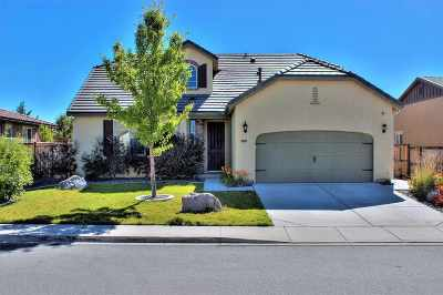 Sparks Single Family Home Price Reduced: 4858 High Pass Dr