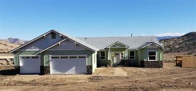 Gardnerville Single Family Home Active/Pending-Loan: 1552 Bolton Loop