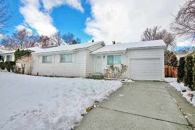 Reno Single Family Home Active/Pending-House: 1799 Elmcrest