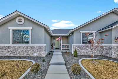 Gardnerville Single Family Home For Sale: 1309 Cedar Creek Circle