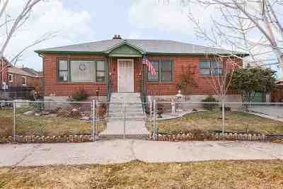 Reno Single Family Home For Sale: 465 Wilson Ave.