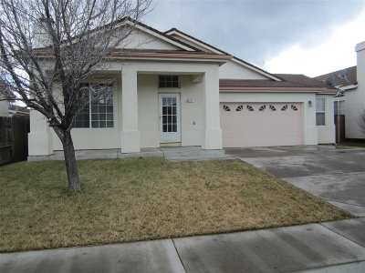 Carson City Single Family Home Active/Pending-Call: 1317 Ridge Point
