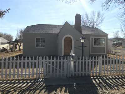 Yerington Single Family Home Active/Pending-Call: 121 South St
