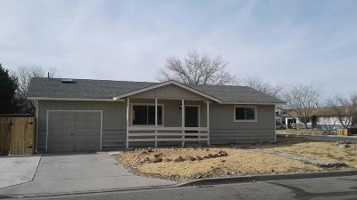 Yerington Single Family Home For Sale: 605 S Whitacre Street
