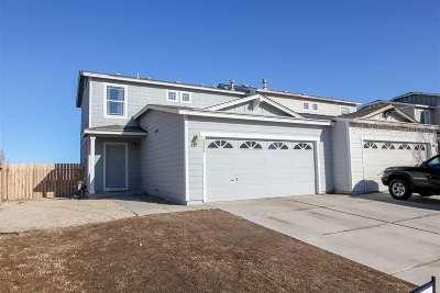 Reno Single Family Home Active/Pending-Loan: 8935 Red Baron Blvd
