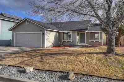 Sparks Single Family Home For Sale: 6940 Sunkist Drive