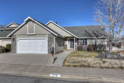 Carson City Single Family Home Active/Pending-Loan: 372 Sunchase