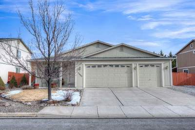 Reno Single Family Home For Sale: 17660 Papa Bear Ct